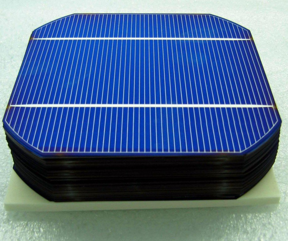 Monocrystalline Solar Cells (photo source: http://nb-meizhi.en.made-in ...