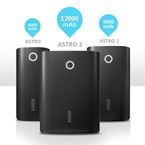 Anker 2nd Gen Astro3 versions
